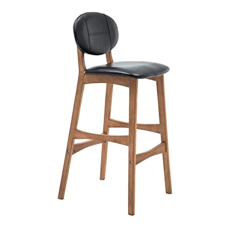 Astounding Amazon Com 30 Inch Square Leather Padded Wooden Bar Chair Inzonedesignstudio Interior Chair Design Inzonedesignstudiocom