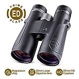 Best 10x50 Binoculars - BNISE 10x50 ED Binoculars for Adults, Compact Design Review