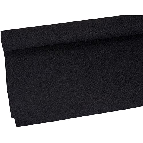 Parts Express Duralock Backed Speaker Cabinet  260-762 Carpet Black Yard, 48