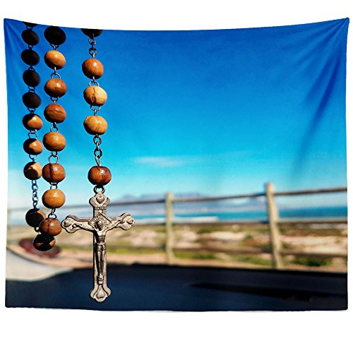 Westlake Art - Catholic Church - Wall Hanging Tapestry - Picture Photography Artwork Home Decor Living Room - 68x80 Inch (94627) by Westlake Art