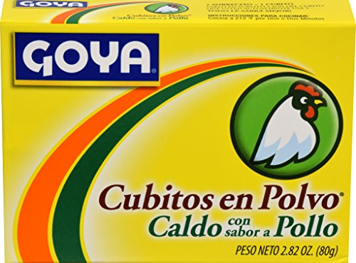 Goya Chicken (Goya Foods Cubitos Polvo Chicken (Powdered Chicken Bouillion), 2.82-Ounce (Pack of 24))