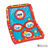 Inflatable Shoot N' Score Game - Use in Pool or Indoor/Outdoor
