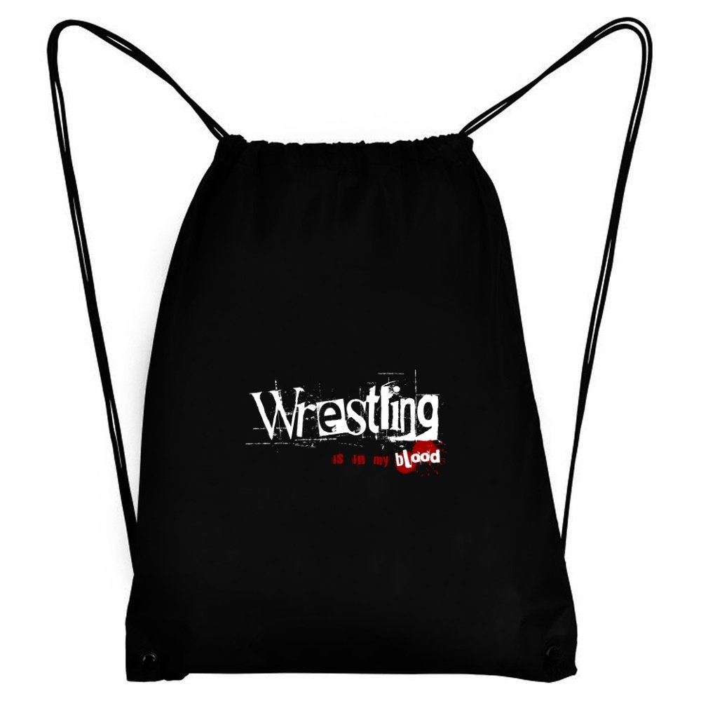 Teeburon Wrestling IS IN MY BLOOD Sport Bag by Teeburon