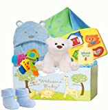 Welcome Baby ''Deluxe Welcome Home'' New Baby Gift Basket
