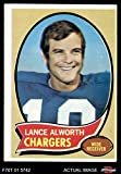 1970 Topps # 240 Lance Alworth San Diego Chargers (Football Card) Dean's Cards 3 - VG Chargers
