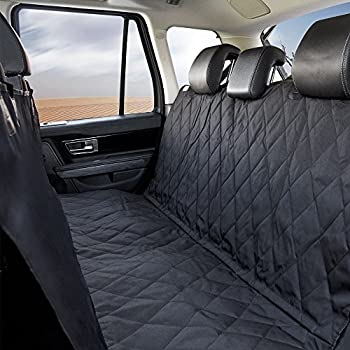 dog/pet car seat cover waterproof,2 side panels,upgraded carrying bag
