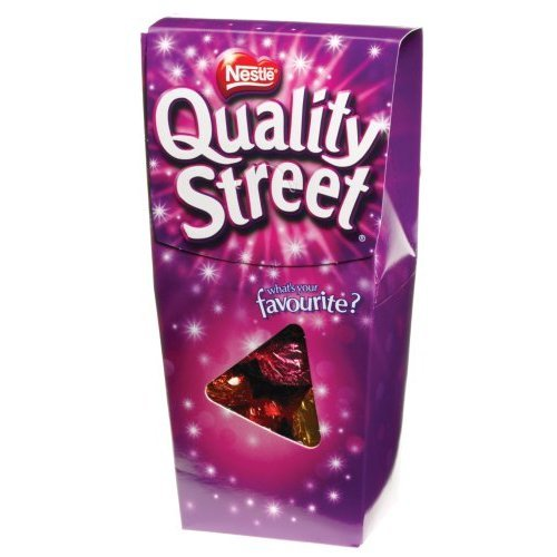 Nestle Quality Street Assorted Gourmet Chocolates 400g (6 Pack) (Original From England) by Nestle