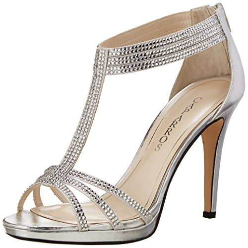 Caparros Maddy Women's Dress Silver Sandal waOXqAO