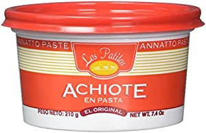 Los Patitos Achiote Paste 7.4 oz. from Costa Rica