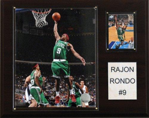 (NBA Rajon Rondo Boston Celtics Player Plaque)