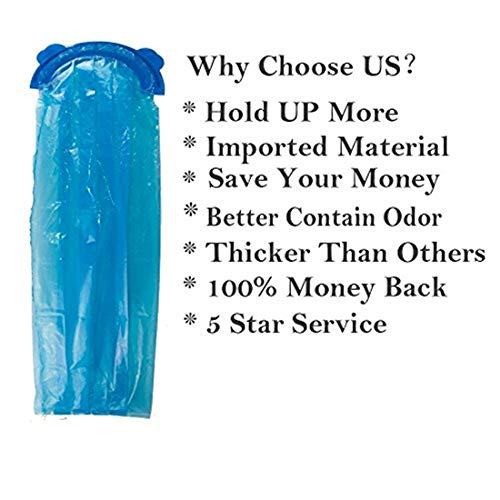 Diaper Pail Refill Bags (1020 Counts) Fully Compatible with Arm&Hammer Disposal System (One Item) by TESSES (Image #5)