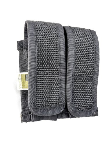 Outbags OB-2MP380 Double Magazine Pouch for Compact 380 Clips. Single Stacked .380 Round Clips.