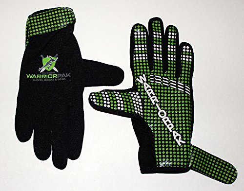 WARRIORPAK OCR Green Elite II Full Finger Gloves XL