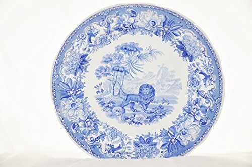 Dinner Room Collection Blue Plate (Spode Blue Room Collection Tradition Series AESON'S FABLES Georgian Dinner Plate)