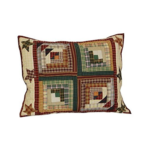 Patch Magic 27-Inch by 21-Inch Woodland Star and Geese Pillow Sham