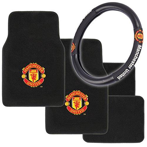 Manchester United Car Interior Gift Set 4pc Carpet Floor