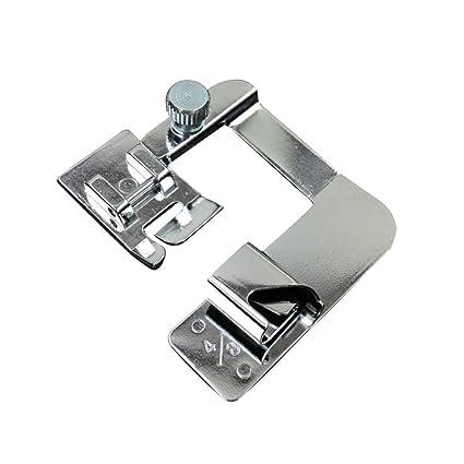 Healifty Máquina de coser Prensatelas para pies Dobladillo enrollado Prensatelas 4/8 para