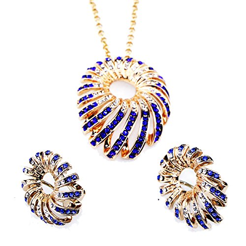 kredy-fashion-gold-plated-crystal-necklaces-and-earrings-women-round-wedding-jewelry-set-austria-cry