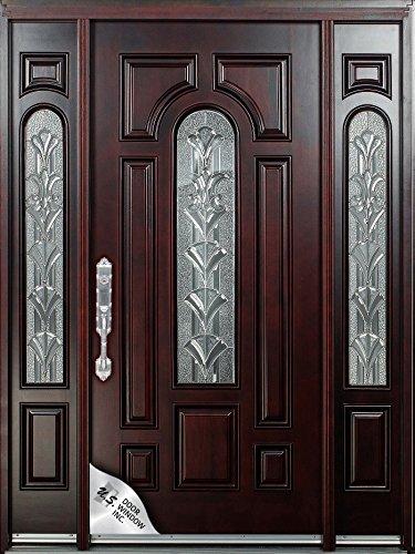 Exterior Front Mahagany Wood Entry Door M280a 1d2sl 12 36x80