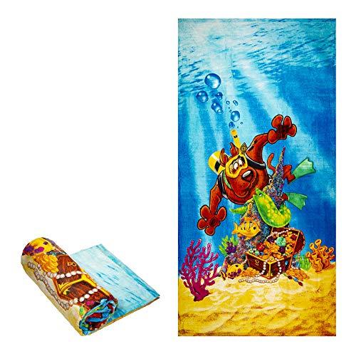 (JPI Beach Towel - Scooby Doo Scuba - Beach Towel Oversized 60