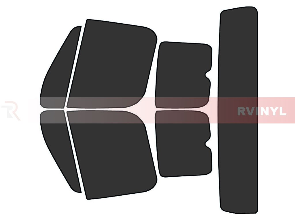 Rtint Window Tint Kit for Freightliner M2 2013-2016 (Base Business Class) - Complete Kit - 20%