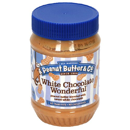 Peanut Butter & Co. White Chocolate Wonderful, 16-Ounce Jar (Pack of 4)