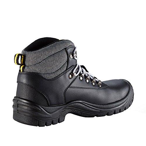 Stivale Di Sicurezza Ddtx Con Scarpe Da Lavoro In Acciaio Leggero A Punta Sbp Uomo In Acciaio Nero