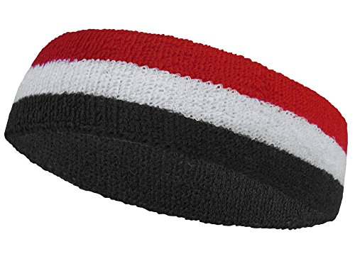 COUVER National Country Flag color Headband, (1 piece) ()