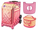 Zuca Sport Bag - Sunset with Lunchbox and Seat Cover (Pink)