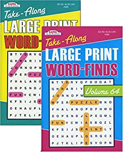 "Word Search Books 5""x 8"""