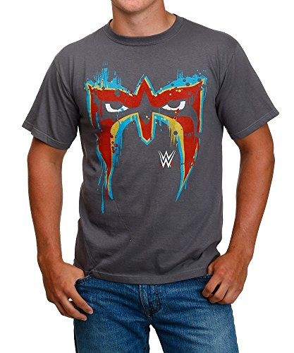 WWE Ultimate Warrior Face Paint T-Shirt Large (Ultimate Warrior Face Paint compare prices)
