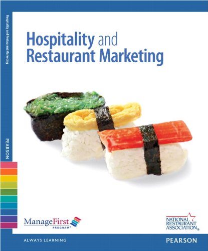 ManageFirst: Hospitality and Restaurant Marketing with Answer Sheet (2nd Edition)