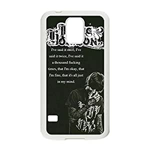 Custom Personalized Phone Case Bring Me The Horizon Hard Plastic Case Back Cover for Samsung Galaxy S5 _White 30812