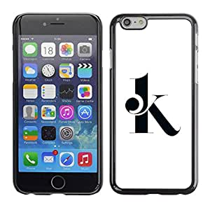PC/Aluminum Funda Carcasa protectora para Apple Iphone 6 OK go ahead / JUSTGO PHONE PROTECTOR