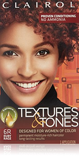 (Clairol Professional Textures and Tones Permanent Hair Color, Ruby Rage)