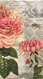 #10: Cypress Home Pink Peony Guest Towels Buffet Paper Napkins, 32 ct