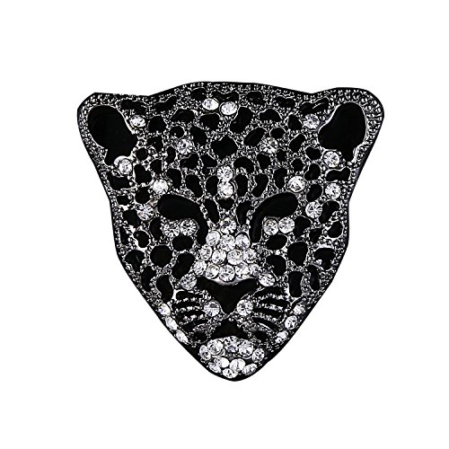 Leopard Brooch Pin Jewelry for Men (Crystal Fashion Pin)