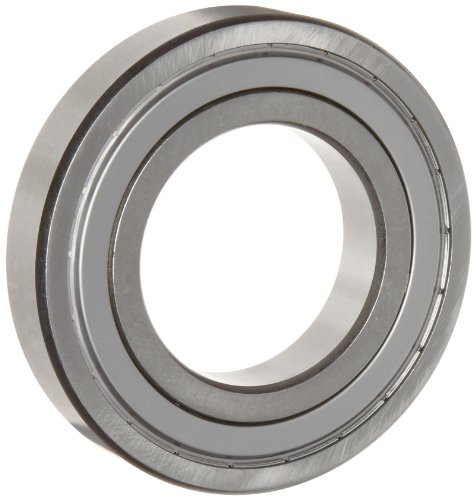 WJB 6202-10-ZZ Deep Groove Ball Bearing, Double Sheilded, Metric, 15.875mm ID, 35mm OD, 11mm Width, 1740lbf Dynamic Load Capacity, 805lbf Static Load Capacity - Double Row Ball Bearing