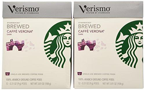 Starbucks Verismo Pods 96 Count (Caffe Verona) by Starbucks