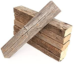 BarnwoodUSA | 100% Reclaimed Wood Bundle For DIY Projects | Pack of 6 (24 inch beams)