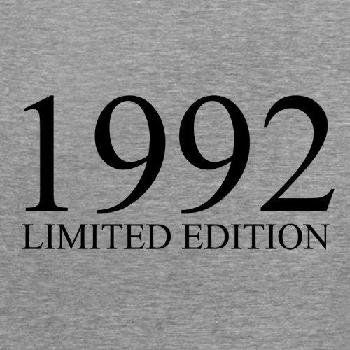 1992 Limierte Auflage / Limited Edition - 25. Geburtstag - Damen T-Shirt - Sportlich Grau - S