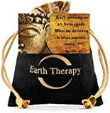 Buddha-Root-Chakra-Bracelet-Gold-Plated-Volcanic-Lava-Healing-Bracelet-for-Men-Women-and-Yogis