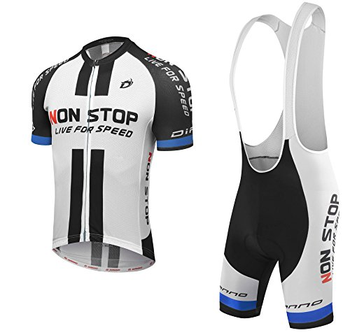 DIANNO CLUB 3.0 Nonstop Live For Speed Cycling Short Sleeve Jersey  Bib  Shorts (Size  M) 4c6a3ca46