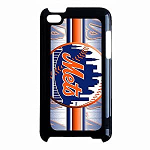 New Style New York Mets Phone Case For Ipod Touch 4th Generation Met Logo Plastic Case
