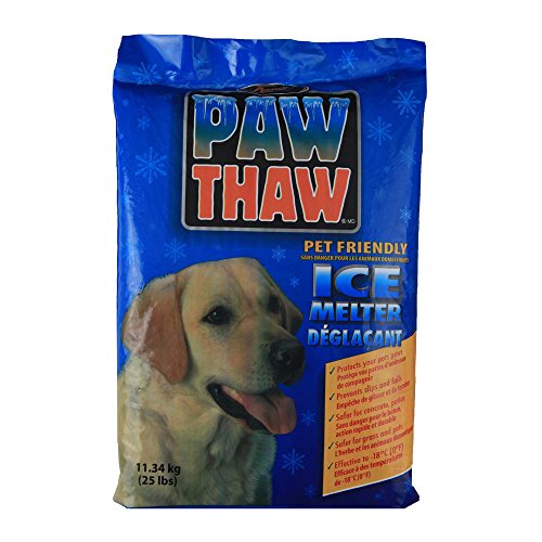 Salt Level Koi Pond - Pestell 683051 Paw Thaw Ice Melt for Pets, 25-Pound Bag