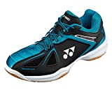 Yonex SHB 34 35 EX 2017 NEW Indoor Court Shoes (35 Black Blue, M7.5/W9/25.5cm)