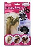 Zebra Print Big Hair Snappy Stylers - Girls Hair Accessories