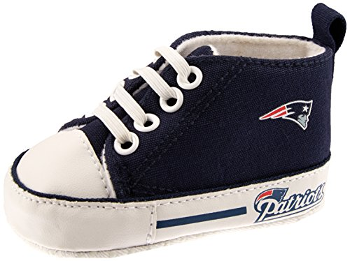Baby Fanatic Pre-Walker Hightop, New England Patriots from Baby Fanatic