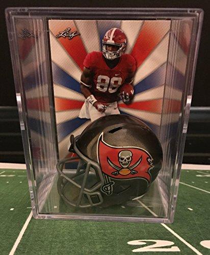 (Tampa Bay Buccaneers NFL Helmet Shadowbox w/ O.J. Howard card)