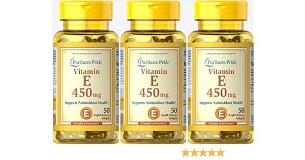 Vitamina E 1000 IU 50 perlas. E1000. (Pack 3u.): Amazon.es: Salud y cuidado personal